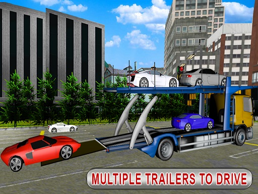 Trailer Cargo Truck Offroad Transporter thumbnail