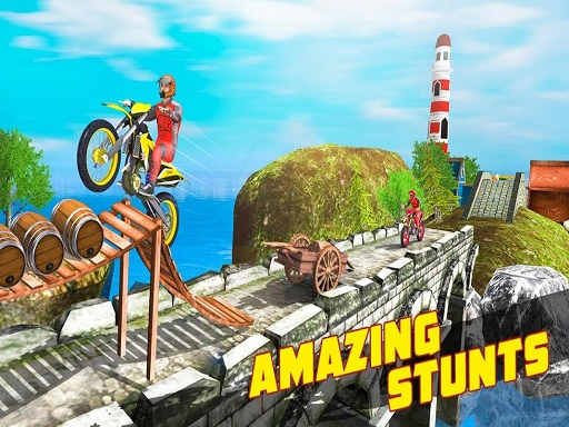 Thumbnail of 3D Crazy Imposible Tricky BMM Bike Racing Stunt