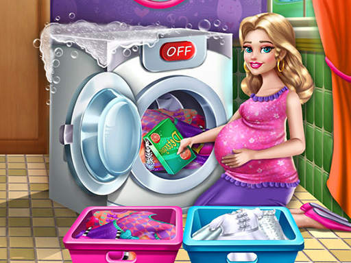 Mommy Washing Clothes thumbnail