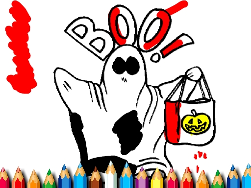 Halloween Coloring Book thumbnail