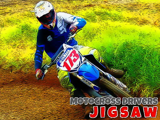 Thumbnail for Motocross Drivers Jigsaw