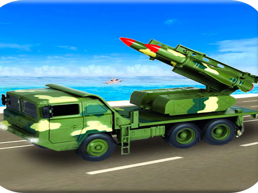 Us Army Missile Attack Army Truck Driving Games thumbnail