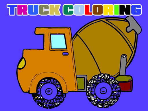 Trucks Coloring Book thumbnail