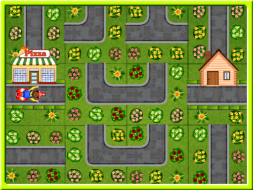 Thumbnail of Pizza Delivery Puzzles