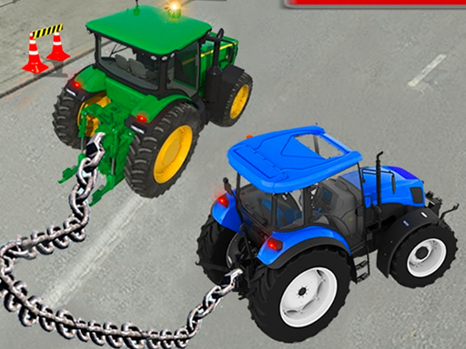Chained Tractor Towing Simulator thumbnail