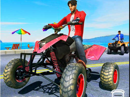 Thumbnail of Quad Bike Traffic Racing Mania