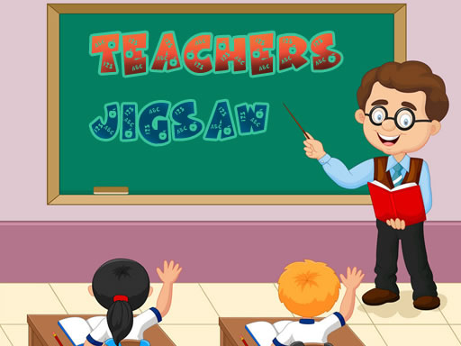 Thumbnail of Teacher Jigsaw Game
