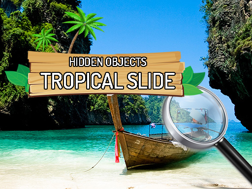 Thumbnail of Hidden Objects Tropical Slide