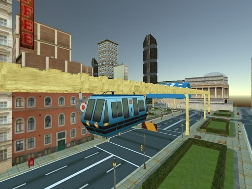 Sky Train Simulator : Elevated Train Driving Game thumbnail