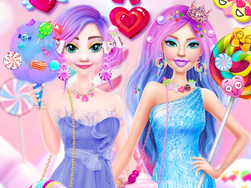 Ellie and Eliza in Candyland thumbnail
