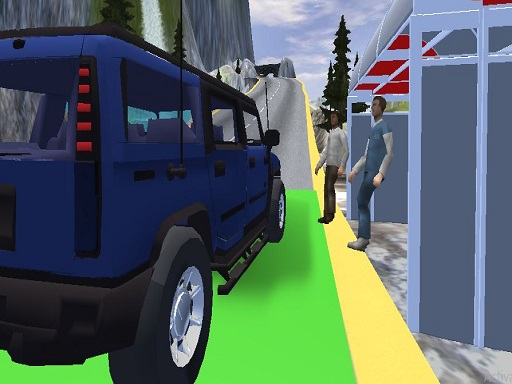 Offroad Hummer Uphill Jeep Driver Game thumbnail
