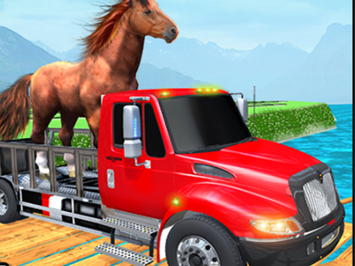 Thumbnail of Farm Animal Transport Truck Game