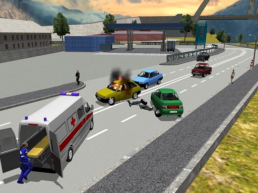 City Ambulance Simulator thumbnail