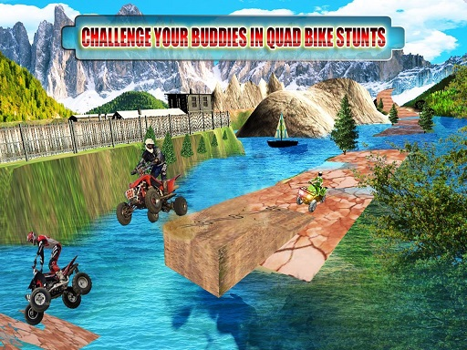 Thumbnail for ATV Offroad Quad Bike Hill Track Racing Mania