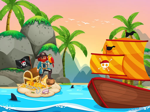 Pirate Travel Coloring thumbnail
