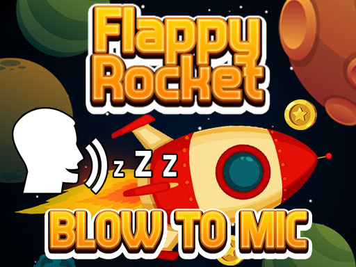 Flappy Rocket Playing with Blowing to Mic thumbnail