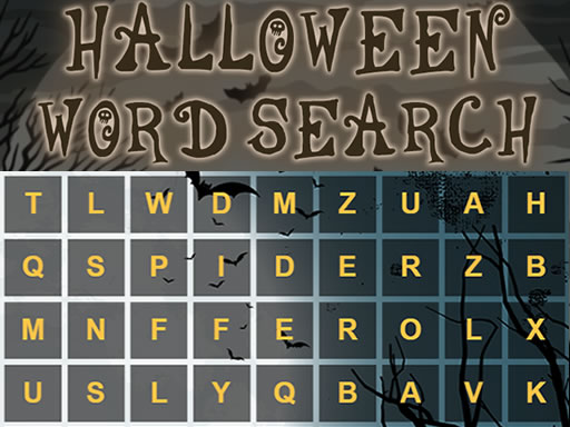 Thumbnail of Halloween Word Search