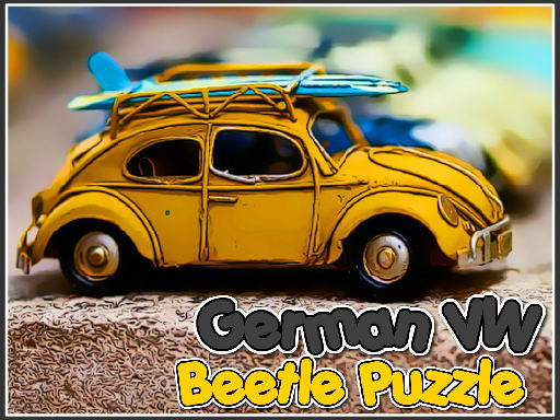 German VW Beetle Puzzle thumbnail