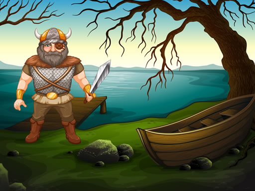 Thumbnail of Viking Warrior Battle Jigsaw