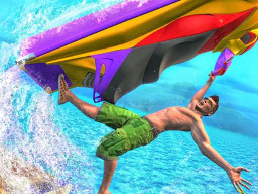 Jet Ski Racing Games Jetski Shooting Boat Games thumbnail