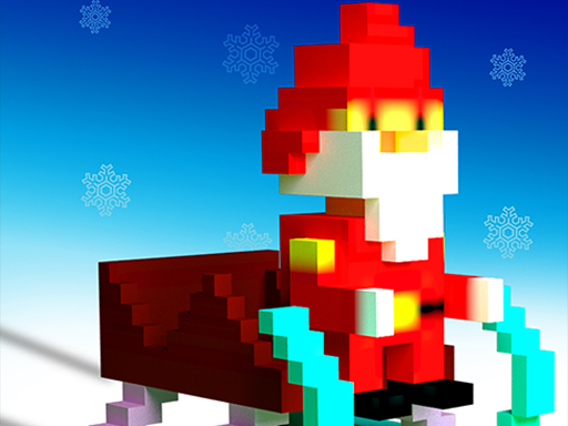 Thumbnail of Super Sliding Santa