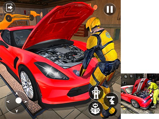 Car Mechanic Auto Workshop Repair Garage thumbnail
