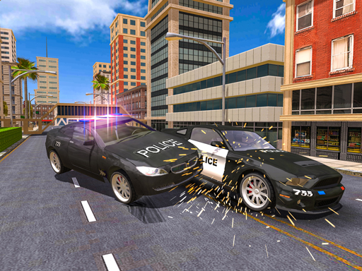 Police Car Stunt Simulation 3D thumbnail