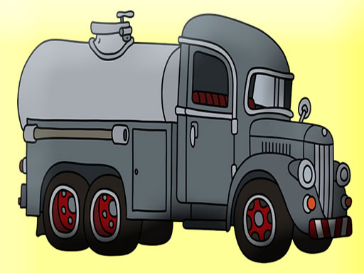 Thumbnail of Tank Trucks Coloring