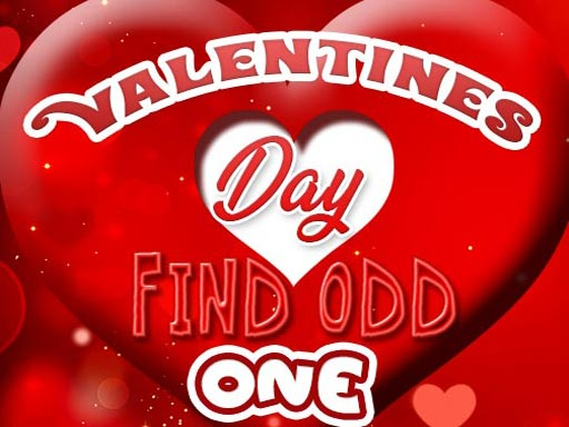 Valentines Day Find Odd One Out thumbnail