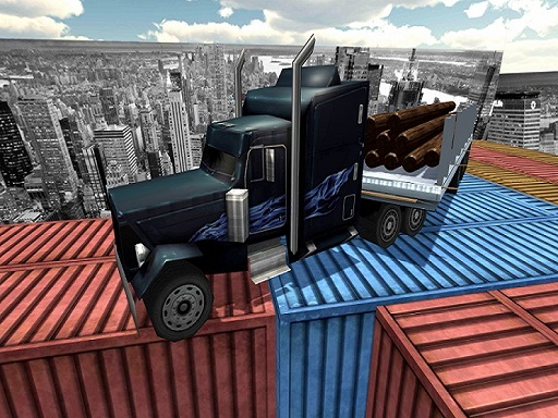Impossible Truck Tracks Drive Game thumbnail