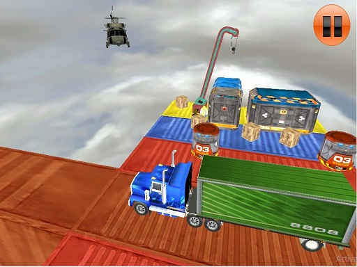 Thumbnail for Impossible Tracks Truck Driving Game