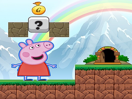 Pig Adventure Game 2D thumbnail