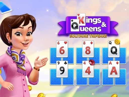 Thumbnail of Kings and Queens Solitaire Tripeaks