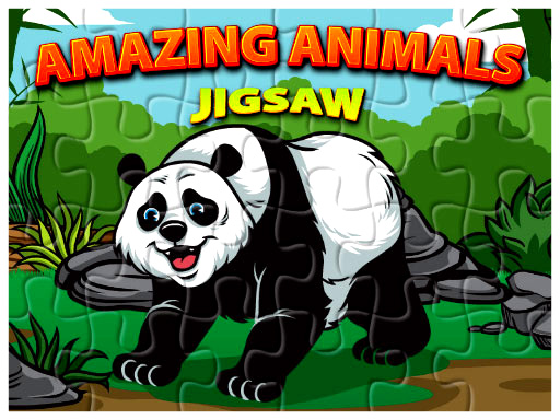 Thumbnail of Amazing Animals Jigsaw