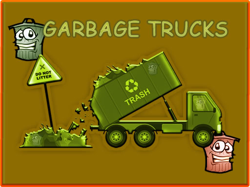 Garbage Trucks Hidden Trash Can thumbnail