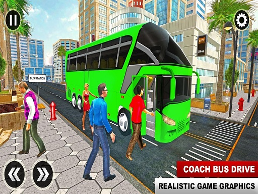 Thumbnail of Euro Coach Bus City Extreme Driver