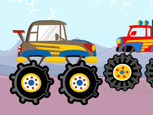 Fun Monster Trucks Jigsaw thumbnail