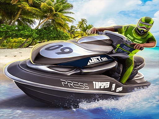 Thumbnail of Boat Racing 3D : Jetski Driver Game