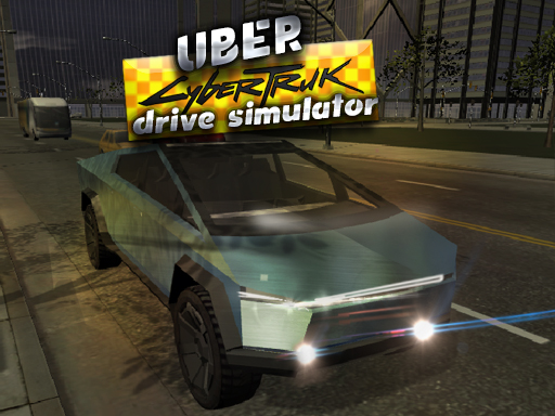 Thumbnail of Uber CyberTruck Drive Simulator