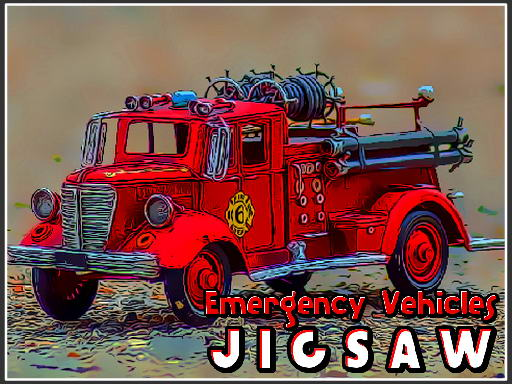 Emergency Vehicles Jigsaw thumbnail