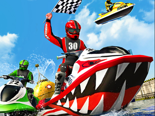 Thumbnail of Jet Sky Water Boat Racing Game