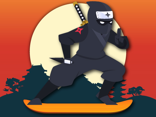 Lava And Ninja Skateboard thumbnail