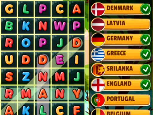 Word Search Countries thumbnail