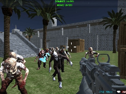 Thumbnail of Shooting Zombie fps Xtreme Good vs Bad Boys