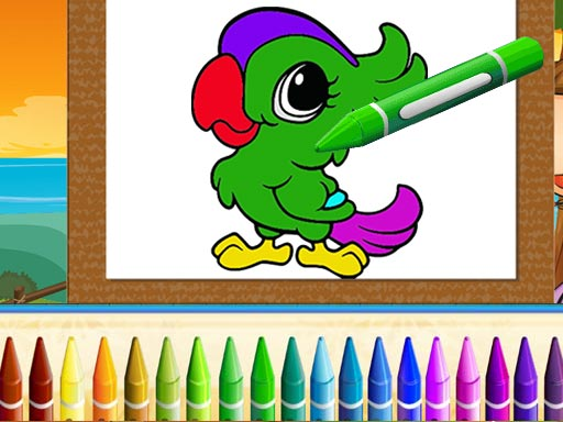 Thumbnail for Cute Animals Coloring