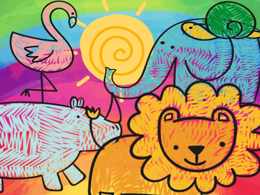 Little Animals Coloring thumbnail