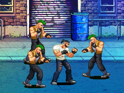 Beat Em Up Street fight 2D thumbnail