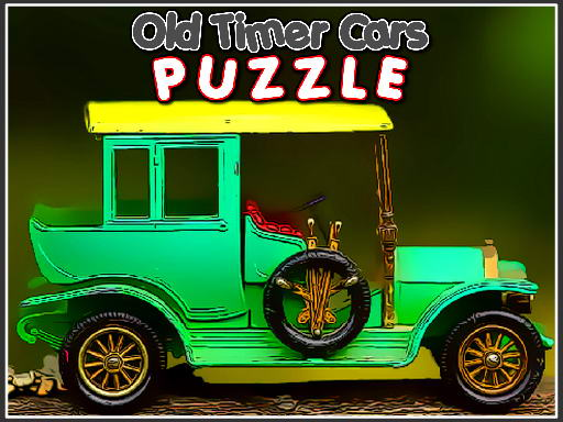 Old Timer Cars Puzzle thumbnail