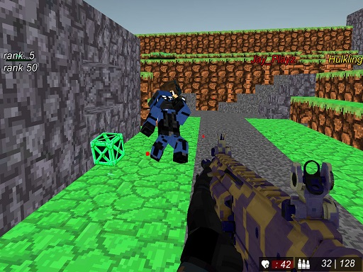Blocky Wars Advanced Combat SWAT Multiplayer thumbnail