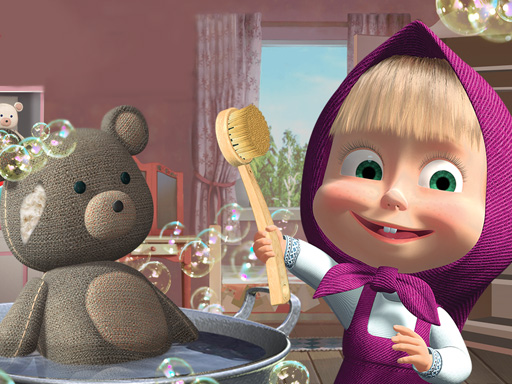 Doll And The Bear Cleaning Game thumbnail